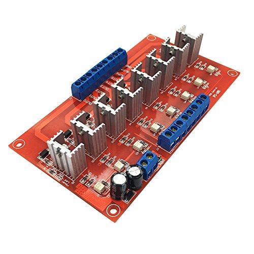 FengYun® 8 Kanal PLC DC Verstärkerplatine IO Schutz Optokoppler Isolation Relaismodul Verstärker Transistor berührungslose Relaismodul -