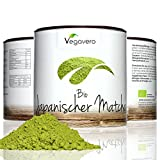 Vegavero BIO Matcha Tee aus Japan | 100 g | BIO Qualität | Grüner Tee in Aroma-Schutzdose