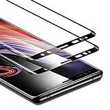 ESR Verre Trempé [3D Couverture Intégrale] pour Samsung Galaxy Note 9 2018 (2 Pièces), [S Pen Compatible], Film Protection Ecran Ultra Résistant, Indice Dureté 9H pour Samsung Galaxy Note9