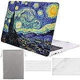 Sykiila pour MacBook Air 11 Pouce Coque Rigide Film Protecteur Ecran HD + Couvercle...