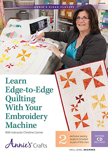 Learn Edge Quilting Embroidery Machine