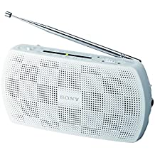Sony SRF-18 BLANCO  Radio con altavoz
