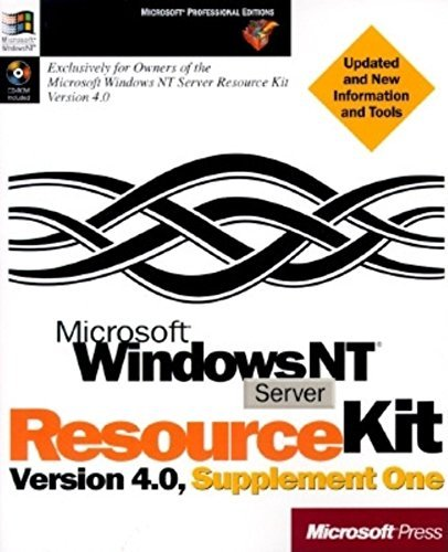 Microsoft Windows NT Server 4.0 Resource Kit: Supplement Book (Microsoft Professional Editions) by Davis (1997-02-01) par Davis