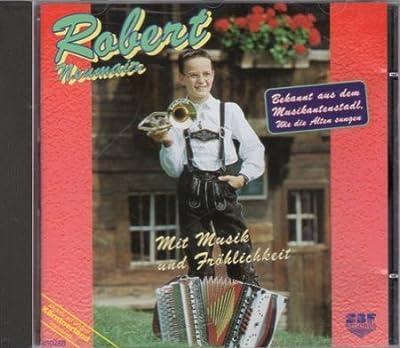 Mit Musik und Fröhlichkeit; Steirische Harmonika Instrumental; incl. Grüße aus dem Pustertal; Verzauberte Finger; Zuhause im schönen Südtirol; Rosi Polka