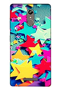 Clarks Printed Back For Gionee S6s