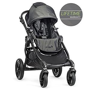 Baby Jogger City Select Single Stroller Charcoal Denim   3