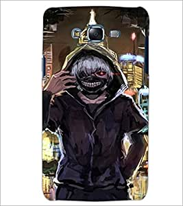PrintDhaba Scary Face D-4231 Back Case Cover for SAMSUNG GALAXY ON 5 (Multi-Coloured)