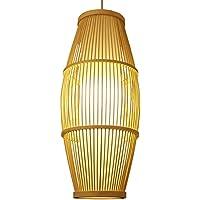 Woo In Stile Giapponese Creativa Di Bambù Illumina Ciondolo,Diametro 25 * 65Cm Brown