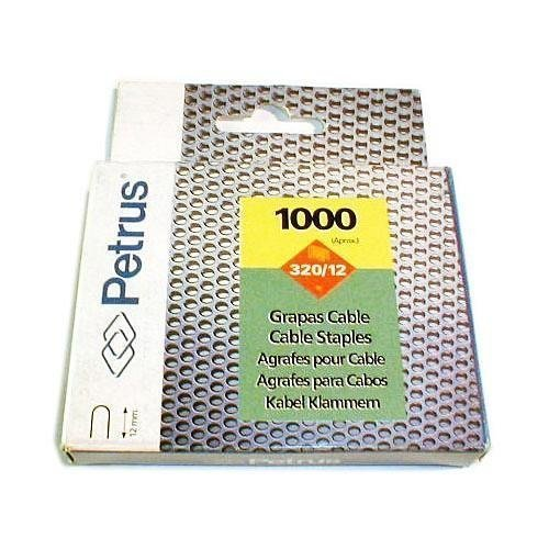 Esselte. 77520 - Grapa grapadora cable 4mm modelo