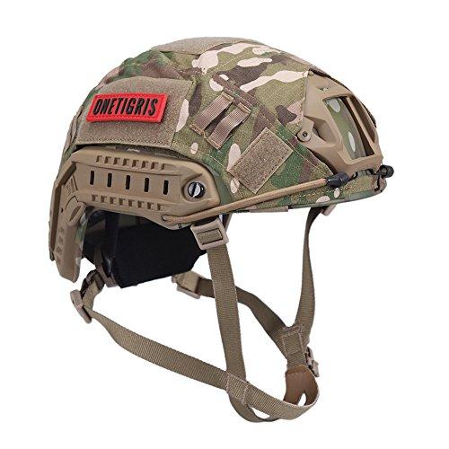 onetigris PJ Táctica rápido casco con extraíble revestimiento de casco para airsoft...