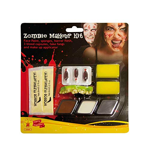 Rubies Kit Maquillaje Zombie para Hombre Talla única...
