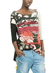 Desigual Loli, T-Shirt à Manches Longues Femme