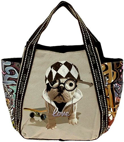 Borsa Shopping Donna Teo Jasmin Bag Tote Big Teo Hip Hop Sorbet IBIZA