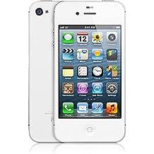 """Apple iPhone 4S - Smartphone de 3.5"""" (cámara 8 Mp, 16 GB, 512 MB RAM, iOS reacondicionado), color blanco"""