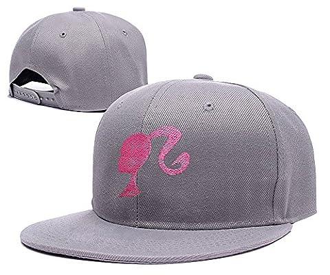 sianda Barbie Logo broderie casquette Snapback Hat Pac Taille unique Grey Hat