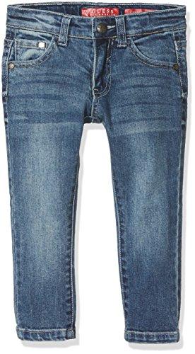 Guess Baby-Jungen Jeans Skinny Fit Denim Core, Mehrfarbig (Luke Wash), Neonato (Herstellergröße: X/7) (Jeans Baby Guess)