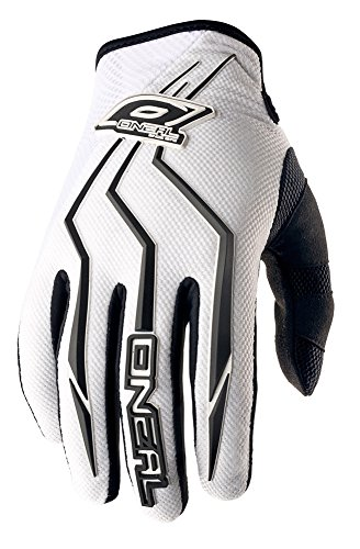 O'Neal Element Handschuhe Weiß MX MTB DH Motocross Enduro Offroad Quad BMX FR, 0390-2, Größe M