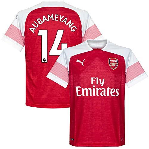 Arsenal Home Trikot 2018 2018 + Aubameyang 14 - XXXL
