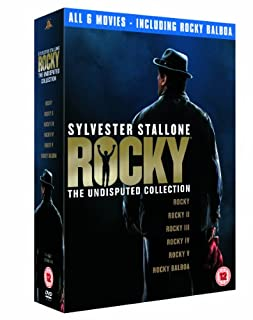 Rocky: The Undisputed Collection [DVD] by Sylvester Stallone (B000W668R6) | Amazon price tracker / tracking, Amazon price history charts, Amazon price watches, Amazon price drop alerts