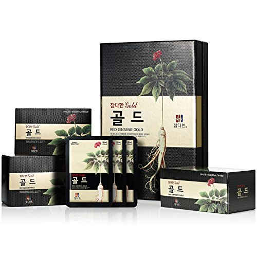 Chamdahan Korean Ginseng rosso Nero d\'oro (50 ml X 30 Sacchetti)