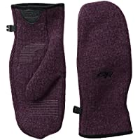 Outdoor Research–Guantes para mujer women 's Flurry Mitts, otoño/invierno, mujer, color morado, tamaño large