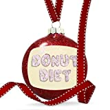 Keeping up with the new trends, Neonblond gives you the option to pick from 15.000 different Glass Disc Christmas Ornament filled with Red Glitter, 80mm, 3-Inces wide. Perfect holliday gift for your friends, family or people you love. Printed in Atla...