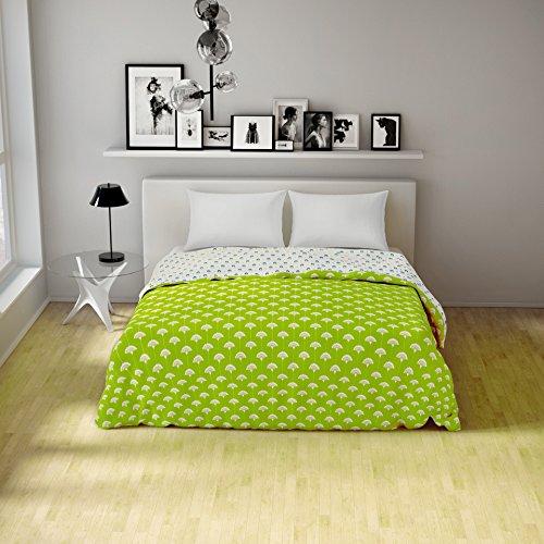Spaces Essentials Cotton Double Dohar - Green