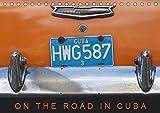 On the road in Cuba (Tischkalender 2019 DIN A5 quer): US-Oldtimer aus den 50er Jahren: Alltag auf den Straßen Kubas (Monatskalender, 14 Seiten ) (CALVENDO Mobilitaet)