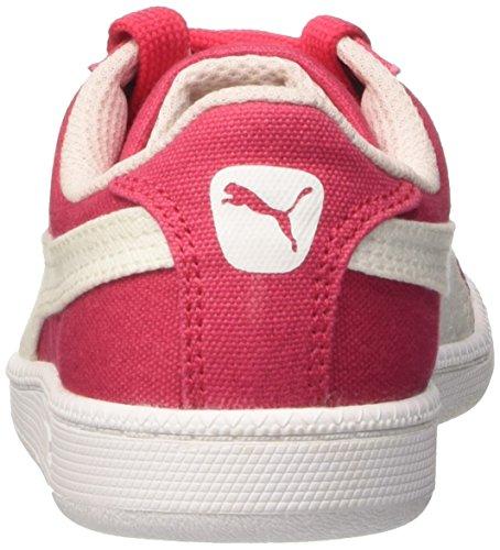 Puma Jungen Smash Fun Cv Hightop Sneaker Red (Rose Red/White)