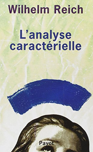 L'analyse caractrielle