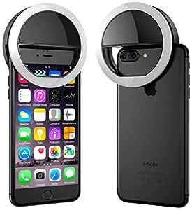 SSMART Selfie Ring Light for Tiktok 3 Way Led Flash White Light for All Smartphones