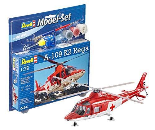 Revell GmbH 164 950,1 cm A-109 K2 Rega Ensemble de modèle