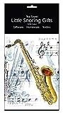 Little Snoring Cadeau Musicien Ustensiles de cuisine/Articles de maison 100% Torchon Coton 5 Design - Saxophone