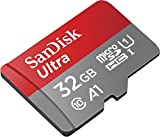 SanDisk 32GB Class 10 microSDXC Memory Card with Adapter (SDSQUAR-032G-GN6MA)