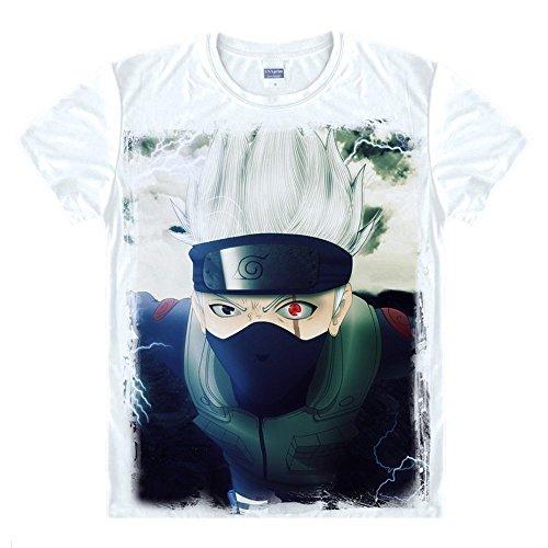 Naruto Hatake Kakashi T-Shirt Kostüm Cosplay