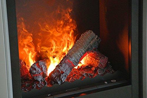 EWT-Verdi-Chimenea-elctrica-opti-myst-3d-alu-flamebed-Negro-ACERO-inox-REFLEJANDO