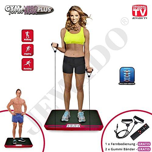 Gymform VIBROMAX Plus, Ganzkörper Profi Shaper und Vibrationsplatte - Original Produkt aus TV-Werbung