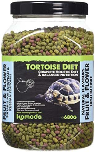 Komodo : Granulés Fruit/fleurs,tortues De Terre : 680g
