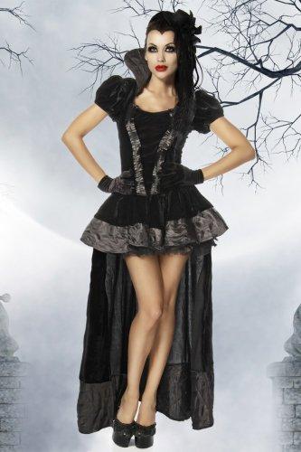 Yourdesignerz Vampir-Kostüm Damen schwarz, Größe Atixo:L