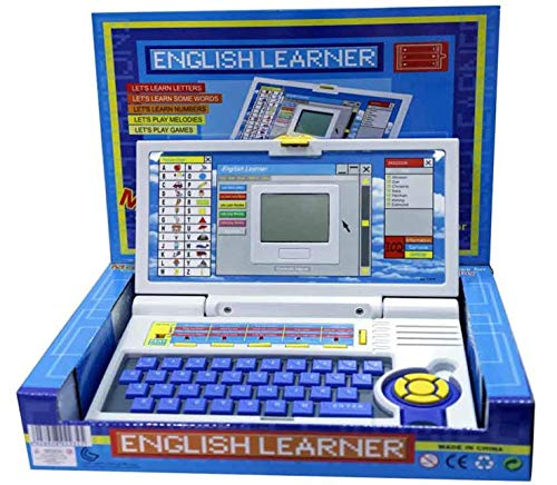 MTC Kid's English Learner Laptop/Educational Notebook Computer Large (Multicolour)
