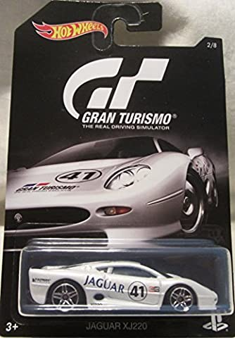 2016 Hot Wheels GRAN TURISMO JAGUAR XJ220 Limited Edition 1:64 Scale Collectible Die Cast Metal Toy Car Model! by Jaguar