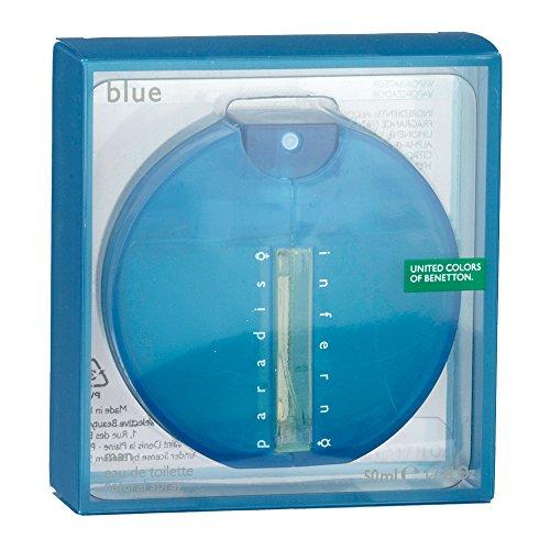 Benetton Inferno Paradiso Blue Eau de Toilette Spray 50ml -