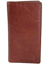 VISCONTI Mens Tan, Brown Or Black Leather RFID Long Jacket Wallet - Gift Boxed - TSC45