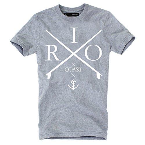 """DEPARTED Fashion Shirt """"3440-030"""" Grau"""