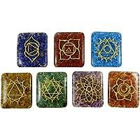 HARMONIZE Multistone Satz von 7 Orgon Reiki Healling Kristall Chakra Symbol Meditation Balancing preisvergleich bei billige-tabletten.eu