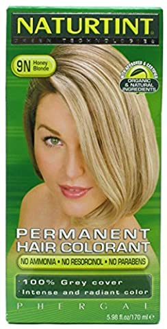 Naturtint 9N Permanent Honey Blonde Haircolor Kit, 4.5 Ounce -- 3 per case. by Naturtint