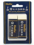 Helix Oxford Large Sleeved Erasers (Pack of 2)