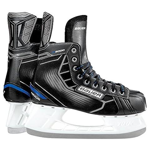 Bauer Nexus N5000Junior Boys Ice Skates, Boys', Bauer Schlittschuh Nexus N5000 Junior, black / silver,