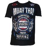 SGCC - SGCC T-Shirt Muay Thai - TSMT Taille - XS, Couleur - Noir