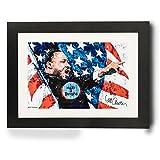 Sidney Maurer Original Portrait Of Martin Luther King Framed Print